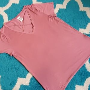 Pink Victoria's secret tee size large